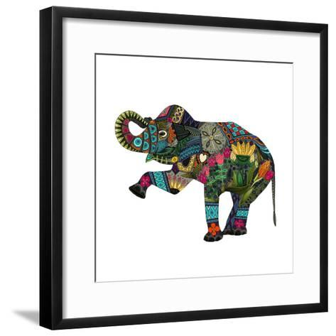 Asian Elephant-Sharon Turner-Framed Art Print