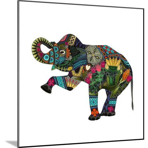 Asian Elephant-Sharon Turner-Mounted Art Print