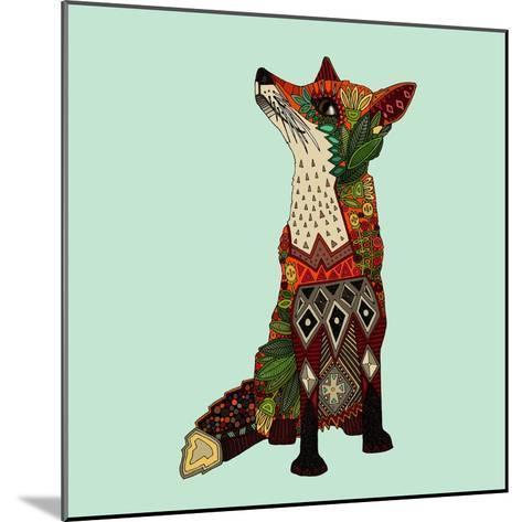 Fox Love-Sharon Turner-Mounted Art Print