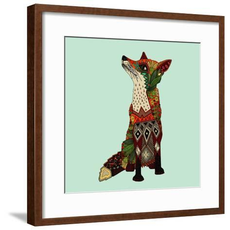 Fox Love-Sharon Turner-Framed Art Print
