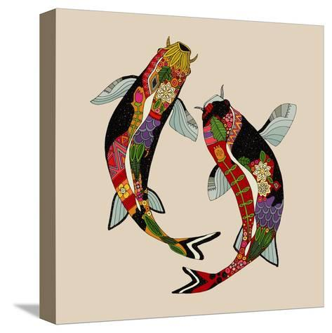 Two Koi-Sharon Turner-Stretched Canvas Print