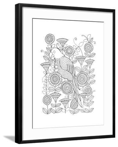 Parrot-Neeti Goswami-Framed Art Print
