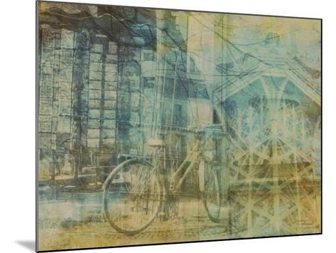 City Collage - Paris 01-Joost Hogervorst-Mounted Art Print