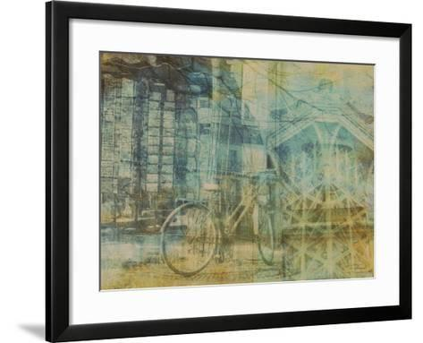 City Collage - Paris 01-Joost Hogervorst-Framed Art Print