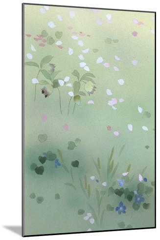 Yumezakura 12975 Crop 1-Haruyo Morita-Mounted Art Print