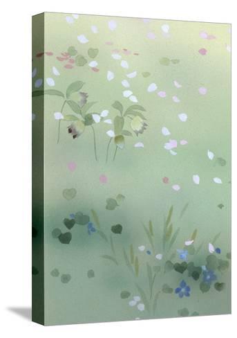 Yumezakura 12975 Crop 1-Haruyo Morita-Stretched Canvas Print