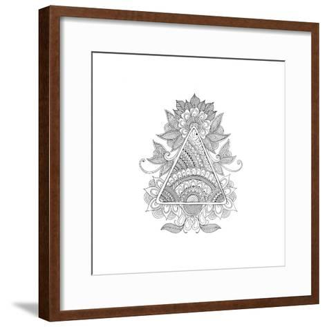 Shape Pattern 2-Neeti Goswami-Framed Art Print