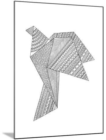 Origami 2-Neeti Goswami-Mounted Art Print