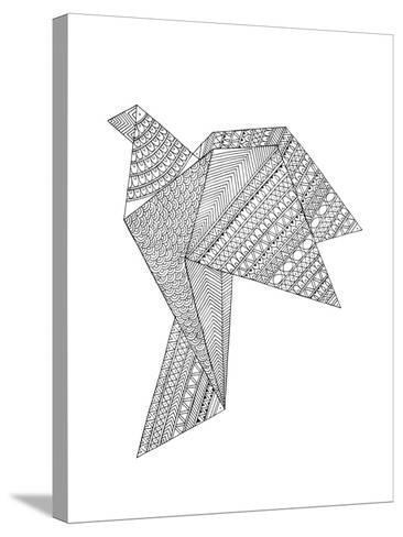 Origami 2-Neeti Goswami-Stretched Canvas Print