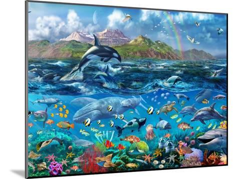 Ocean Scene-Adrian Chesterman-Mounted Art Print