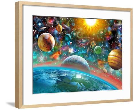 Universal Splendor-Adrian Chesterman-Framed Art Print