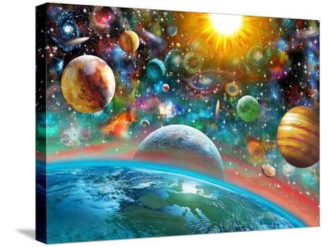 Universal Splendor-Adrian Chesterman-Stretched Canvas Print