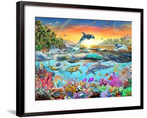 Tropical Paradise-Adrian Chesterman-Framed Art Print