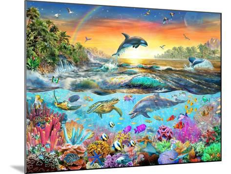 Tropical Paradise-Adrian Chesterman-Mounted Art Print