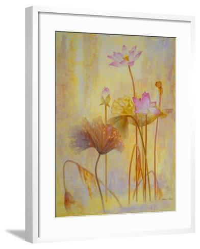 Autumn Lotus-Ailian Price-Framed Art Print