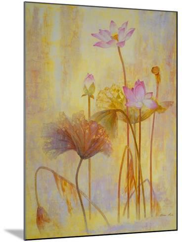 Autumn Lotus-Ailian Price-Mounted Art Print