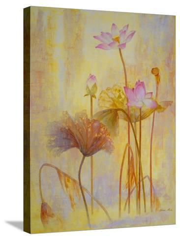 Autumn Lotus-Ailian Price-Stretched Canvas Print