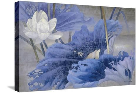 Blue Rhyme-Ailian Price-Stretched Canvas Print
