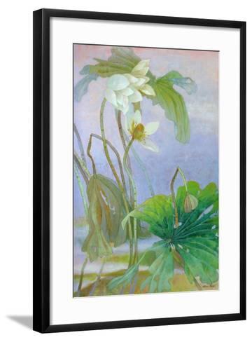 The Rise of White Lotus-Ailian Price-Framed Art Print