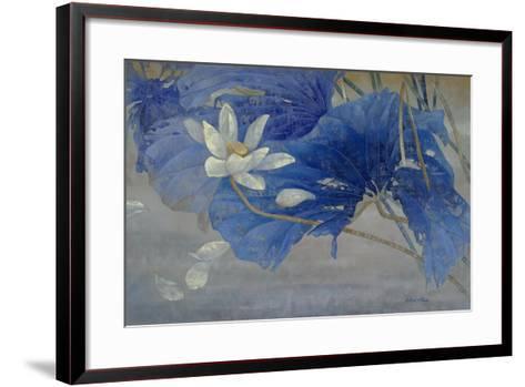 Blue Rhyme 2-Ailian Price-Framed Art Print