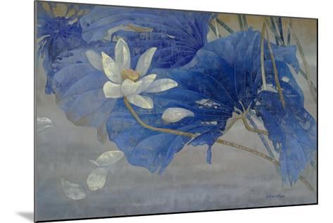 Blue Rhyme 2-Ailian Price-Mounted Art Print