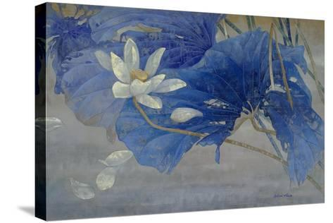 Blue Rhyme 2-Ailian Price-Stretched Canvas Print
