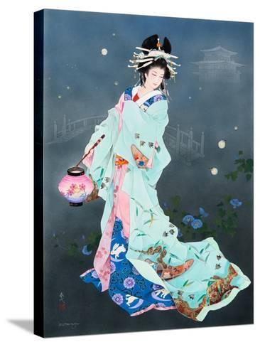 Hotarubi-Haruyo Morita-Stretched Canvas Print
