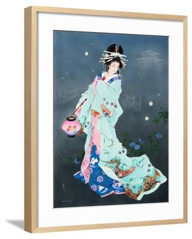 Hotarubi-Haruyo Morita-Framed Art Print