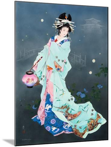 Hotarubi-Haruyo Morita-Mounted Art Print