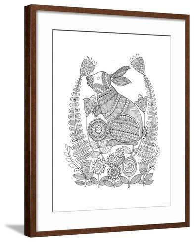 Animal Bunny 3-Neeti Goswami-Framed Art Print