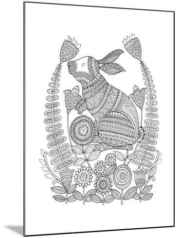 Animal Bunny 3-Neeti Goswami-Mounted Art Print