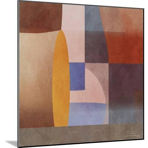 Abstract Tisa Schlemm 02-Joost Hogervorst-Mounted Art Print