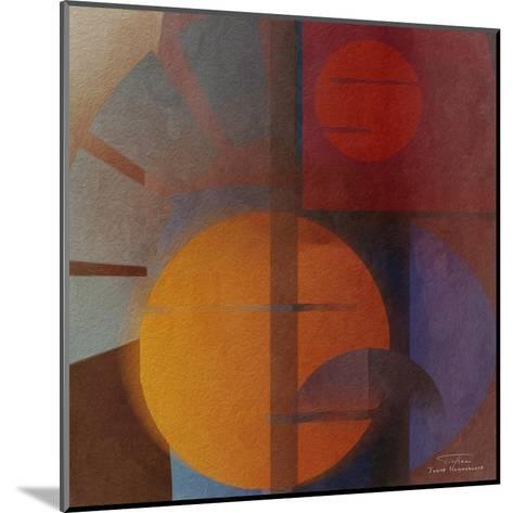 Abstract Tisa Schlemm 05-Joost Hogervorst-Mounted Art Print