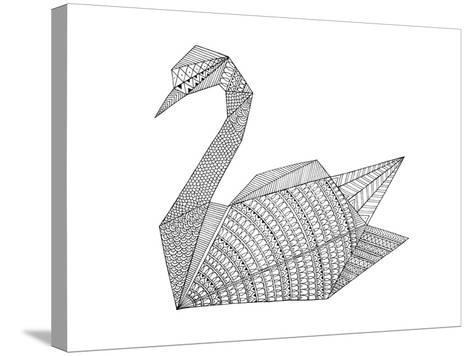 Origami 3-Neeti Goswami-Stretched Canvas Print