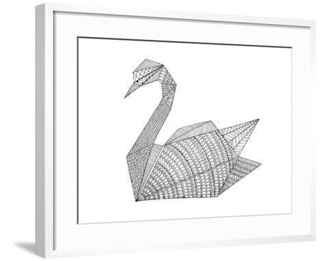 Origami 3-Neeti Goswami-Framed Art Print