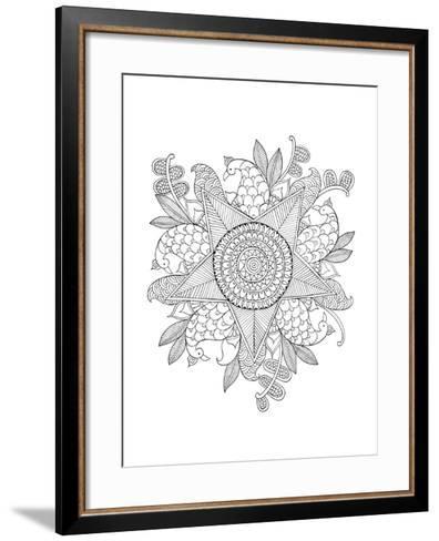 Shape Pattern 10-Neeti Goswami-Framed Art Print