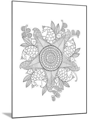 Shape Pattern 10-Neeti Goswami-Mounted Art Print