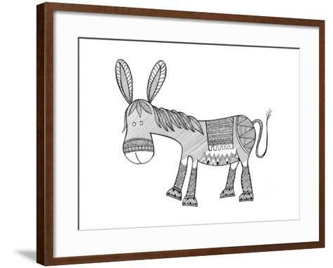 Animals Donkey-Neeti Goswami-Framed Art Print