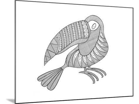 Bird Kakatua-Neeti Goswami-Mounted Art Print