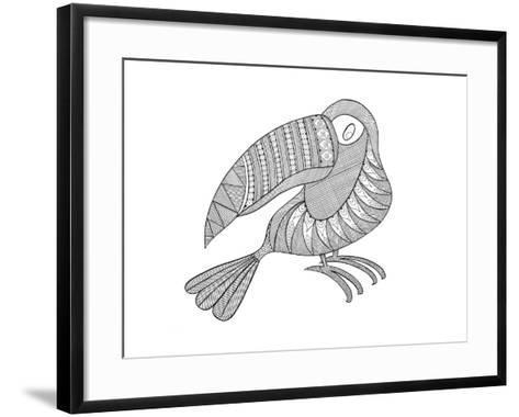 Bird Kakatua-Neeti Goswami-Framed Art Print
