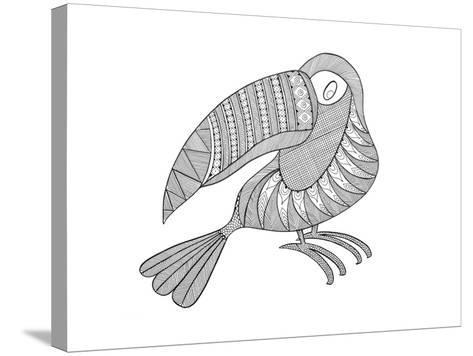 Bird Kakatua-Neeti Goswami-Stretched Canvas Print