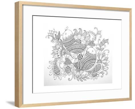 Birds-Neeti Goswami-Framed Art Print