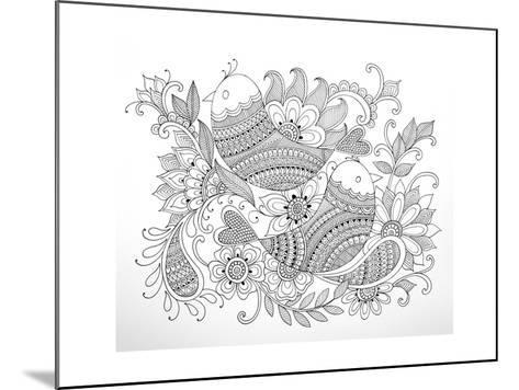 Birds-Neeti Goswami-Mounted Art Print