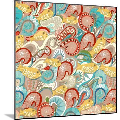 Ocean Waves-Sharon Turner-Mounted Art Print