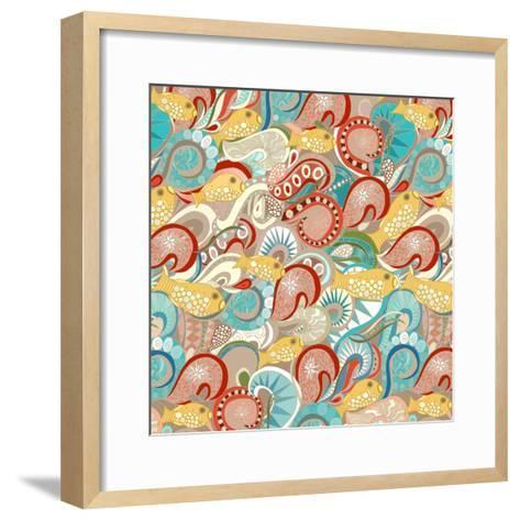 Ocean Waves-Sharon Turner-Framed Art Print