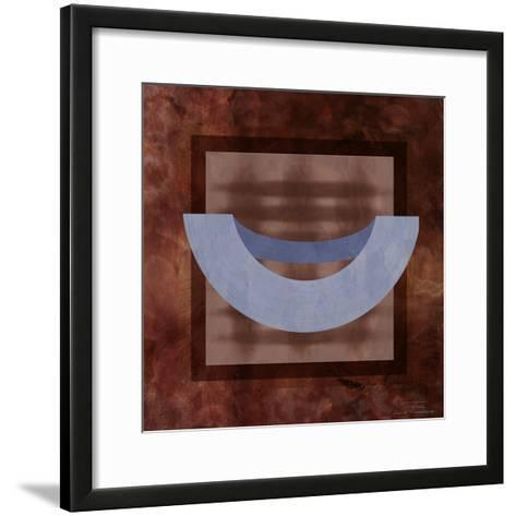 Abstract Mono 01 I-Joost Hogervorst-Framed Art Print
