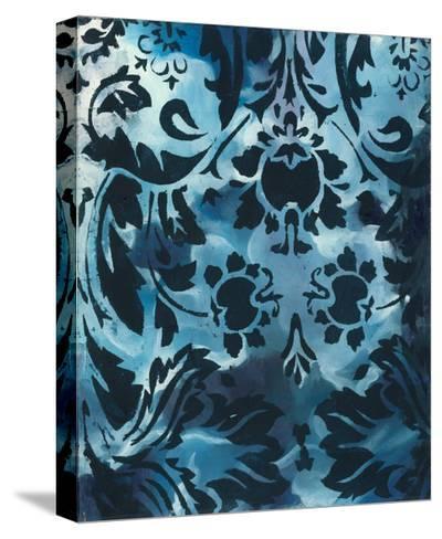 Indigo Patterns III-Arielle Adkin-Stretched Canvas Print