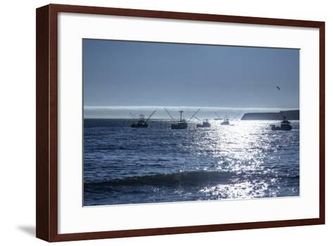 Fishing Boats I-Rita Crane-Framed Art Print