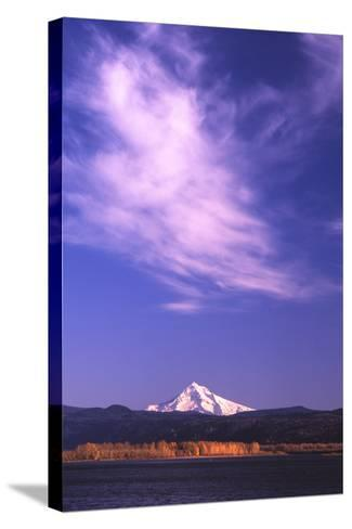 Mt. Hood XVIII-Ike Leahy-Stretched Canvas Print