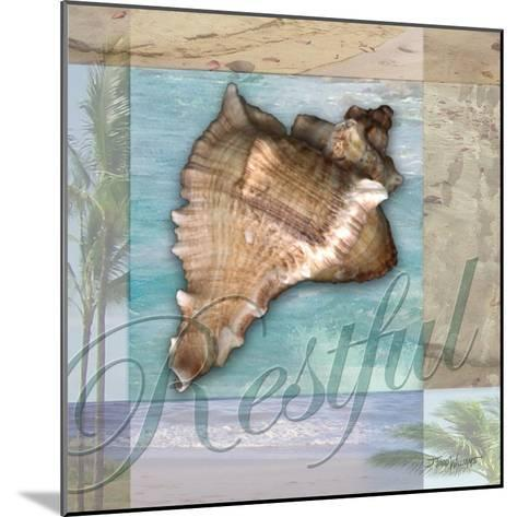 Restful Shell-Todd Williams-Mounted Art Print